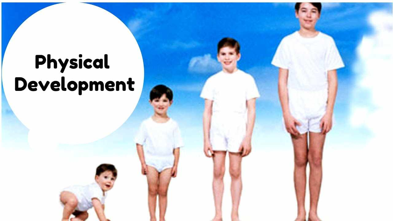 physical development of a child Infants (birth to age 1) and toddlers (ages 1 to 2) grow quickly bodily changes are rapid and profound physical development refers to biological changes that.